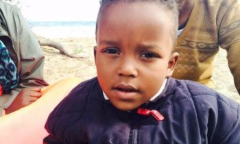 500 migrants drowned last week, but this boy is the only child survivor (PHOTOS)