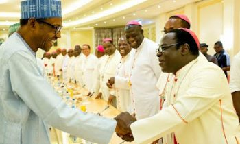 I have ordered security agencies to deal decisively with rampaging herdsmen- Buhari tells Catholic Bishops