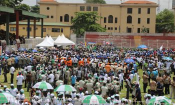 May Day celebration in Lagos, held at Onikan Stadium