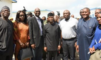 Vice President Osinbajo inspection visit to Dangote refinery& fertilizer plant at Lekki free trade zone