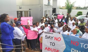 Women group protest Melaye's attack on Tinubu