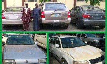 RRS recovers 8 stolen vehicles, busts trans-border crime