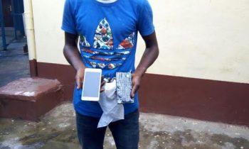 Teenager arrested for swindling public