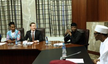 President Buhari commends Zuckerberg for inspiring Nigerian youths into entrepreneurship