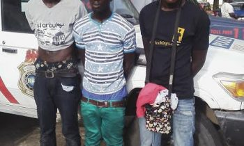 RRS arrest 3 suspected robbers with master key
