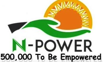 N-POWER, FG'S 500,000 JOBS' SCHEME for unemployed graduates, others enter assessment phase