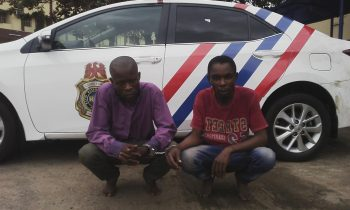 We are swindlers – suspects