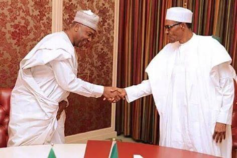 Saraki: I want Buhari's job