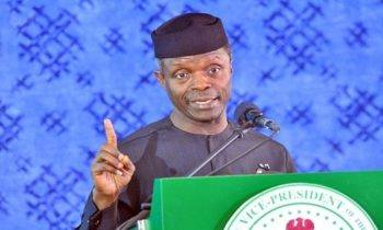 Buhari's Administration Plans Guided By Promises We Made To Nigerians, Says VP Osinbajo