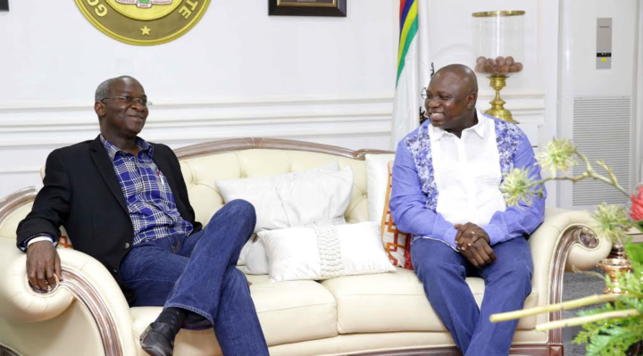 Image result for Fashola's achievements as governor commendable, says Ambode