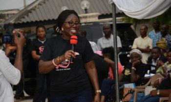 MRS AKEREDOLU PLEDGES NOT TO GIVE UP ON BREAST CANCER AWARENESS IN NIGERIA