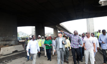 FASHOLA INSPECTS WHARF ROAD, APAPA, OTHER SELECTED ROADS IN LAGOS