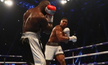 Anthony Joshua beats Takam in Cardiff