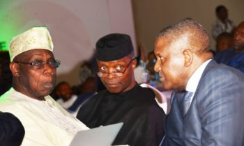 Africa's prosperity:Osibajo, Obasanjo, Mbeki, Dangote, tasks AfroChampions on job creation