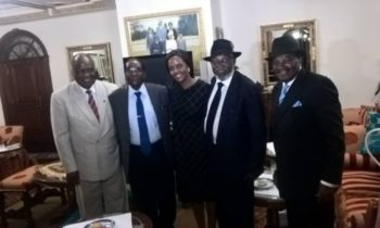 Photo of the week: Mugabe's visitors from Namibia
