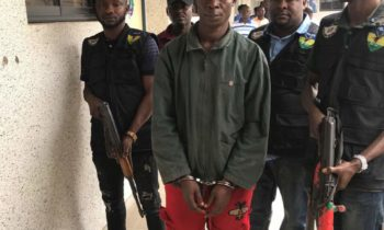 The deadly Kidnappers terrorizing Omoku, River state were apprehended and paraded