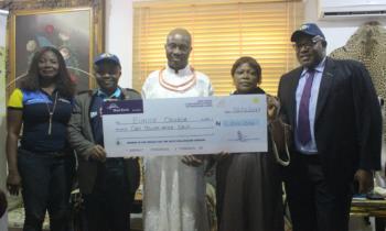 Obazelu of Benin Kingdom lauds Skye Bank for rewarding loyal customers