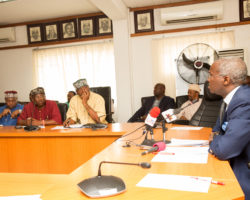 PHOTO NEWS; Fashola,Hassan Meet With Stakeholders Of The Bodo – Bonny Road And Bridges Project