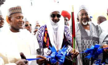 The ultra modern N1.2 BILLION Dangote Business School edifice was commissioned at the weekend in Kano, after which the President of Dangote Group, Aliko DANGOTE was give an award by the University