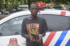 We Rob Stranded Motorists with Toy Gun – Suspect