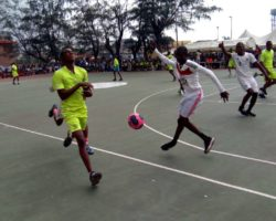 Action at 4th Kayode Opeifa Cup in pictorial.