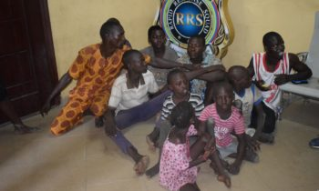 RRS NABS SEVEN USING PHYSICALLY CHALLENGED CHILDREN TO BEG
