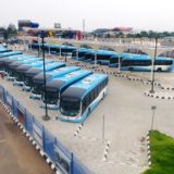 Lagos state govt.are bringing in New buses in batches