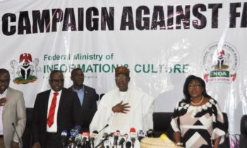 FG Launches National Campaign Against Fake News