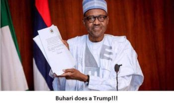 Executive Order 6: Buhari Acquires A Big Stick Against Corruption -By GARBA SHEHU