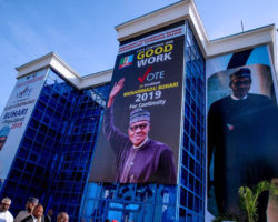 Buhari Inspects Campaign Office
