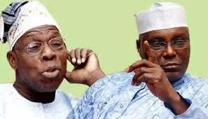 Obasanjo dares Atiku to visit America