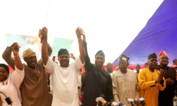 AMBODE OFFICIALLY ENDORSES SANWO-OLU/HAMZAT TICKET