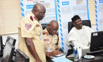 INEC Chairman Addresses FRSC Commanding Officers, Seeks For Collaboration In The Conduct Of Elections