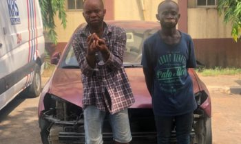 RRS ARRESTS UBER DRIVER'S KILLERS, RECOVERS CAR
