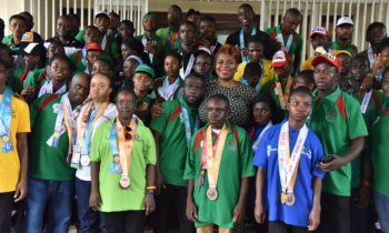Special Olympics World Games 2019: Union Bank, Special Olympics Nigeria Welcome Team Nigeria
