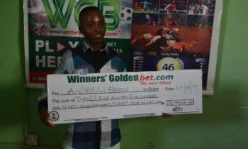 Abuja-Based Washman Wins N25 millions On Winners Golden Bet