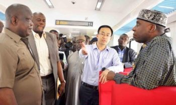 """Rail Project: You are doing no job, absolutely no job,""""Amaechi Blames CCECC For Slow Pace Of Work"""