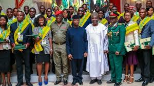 FGoffers 168 recipients of President's NYSC honours awards