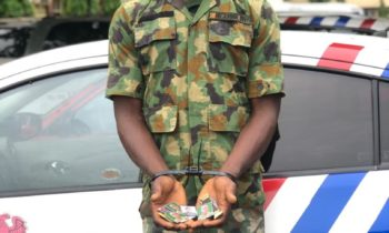 RRS Arrests Fake Soldier, Robber